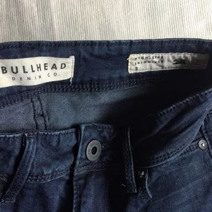Bullhead Jeans - Bullhead high-rise skinniest dark wash Jeans sz 3